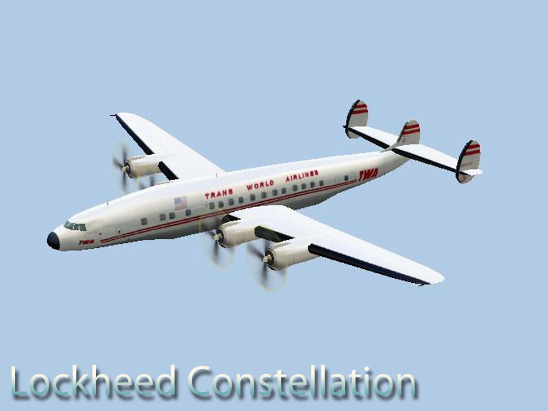 Lockheed Constellation of TWA