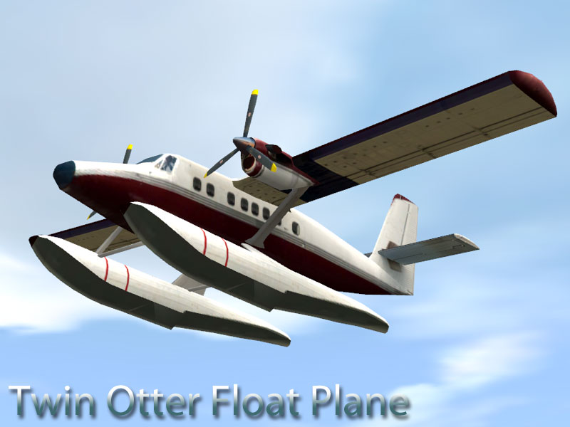 Twin Otter DH6 Float Plane