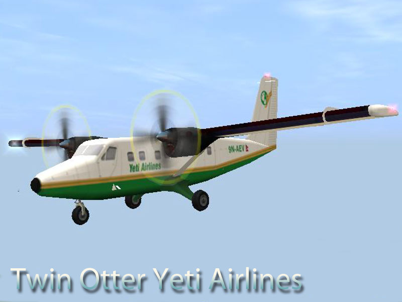 Twin Otter Yeti Airways