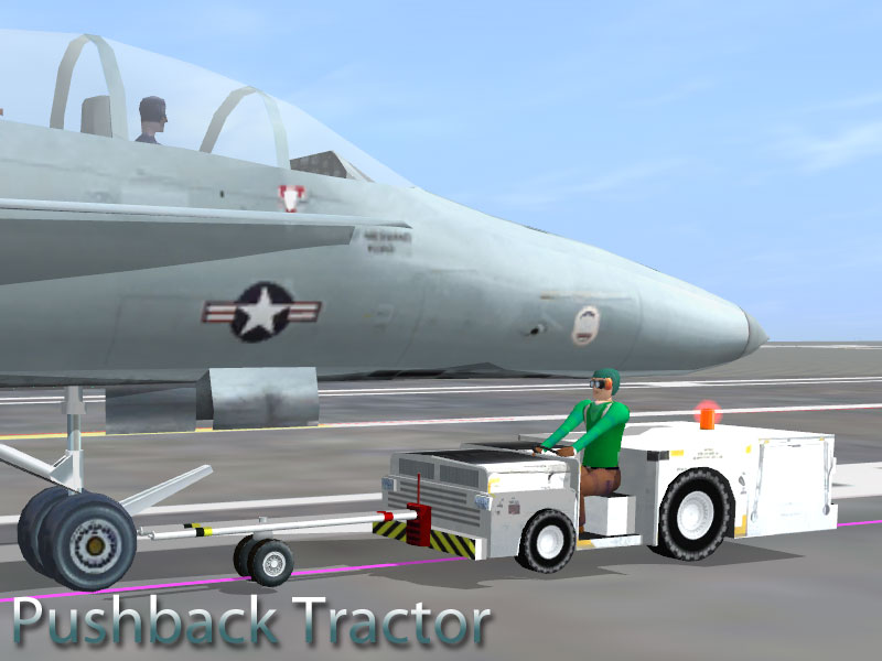 Airport Pushback Tractors