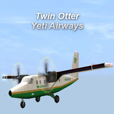 Twin Otter Yeti Airways Startup