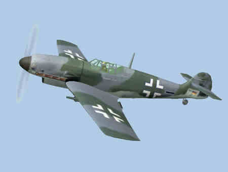 Messerschmitt BF109 Fighter