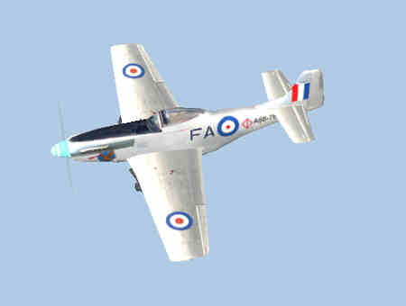 Mustang Fighter FA A68-769
