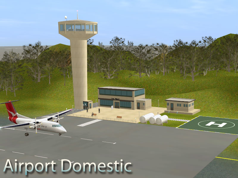 Domestic and Commercial Airports