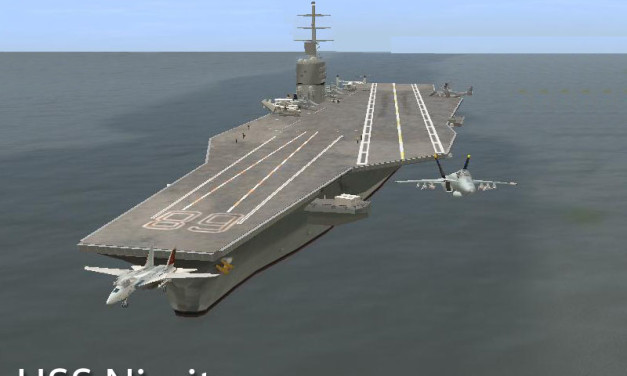 Aircraft Carrier USS CVN-68 Nimitz