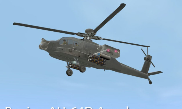 Boeing AH-64D Apache Helicopter
