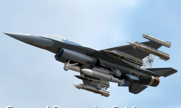 General Dynamics F-16D Fighting Falcon