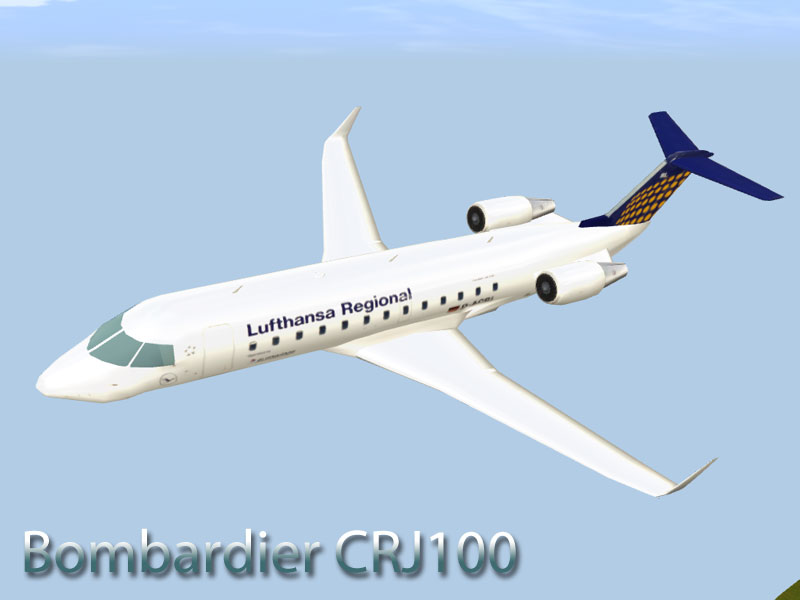 Bombardier CRJ200 and CRJ900