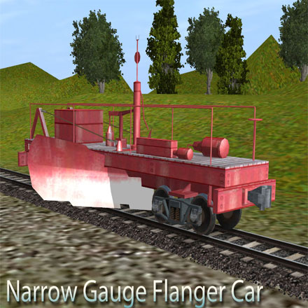 Narrow Gauge 36in D&RGW Flanger Car