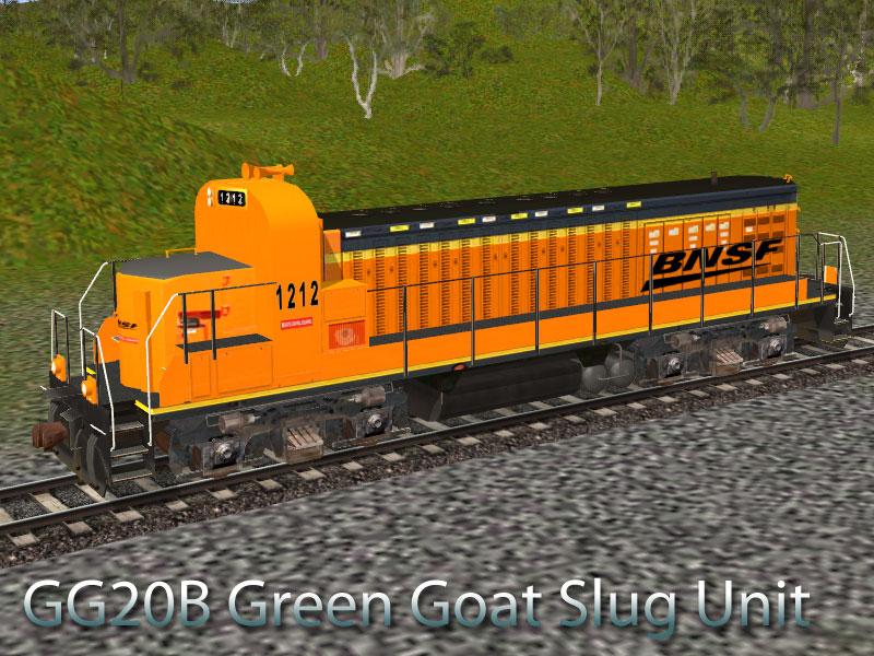 GG20B Green Goat Locomotive | Ianz Trainz